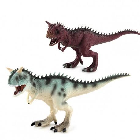 Figurine Dinosaure en plastique Carnotaurus