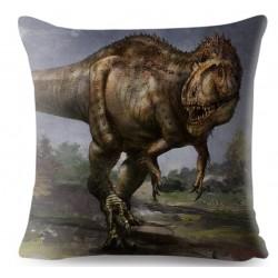 taie d'oreiller dinosaure