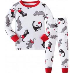 Pyjama Dinosaure blanc