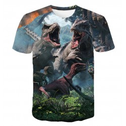 t shirt dinosaure adulte