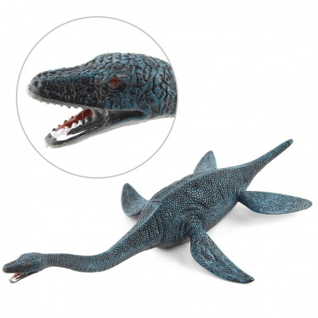 Figurine Dinosaure Plésiosaure bleu