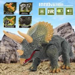 Jouet Dinosaure  qui marche Triceratops