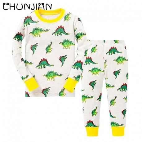 Pyjama Dinosaure imprimé stégosaure