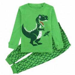 Pyjama motif Dinosaure vert
