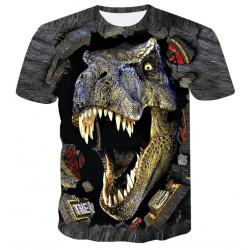 t shirt dinosaure homme