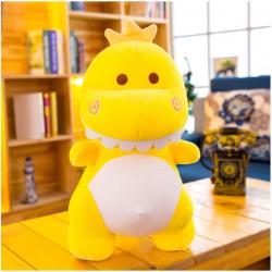 Peluche dinosaure jaune